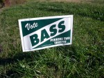 Vote Bass! photo from Madeleine Crouch