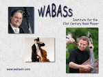Wabass – free double bass summer program with Hal Robinson, Ranaan Meyer, and Eric Larson