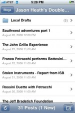 Why I love iPhone blogging