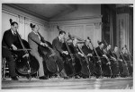 New York Philharmonic bass section, circa 1941