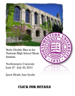 Study with Jason Heath this summer at the National High School Music Institute!