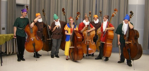 Snow White and Seven Basses