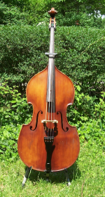 Wilfer fully-carved half-size bass for sale