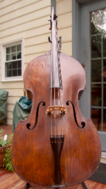 For Sale: French Double Bass ca. 1850