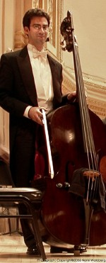 Ira Gold joins Peabody Double Bass Faculty