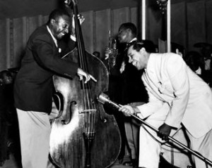 Milt Hinton and Cab Calloway
