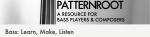 Bass: Learn, Make, Listen – PATTERNROOT