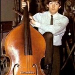 Paul McCartney on double bass!