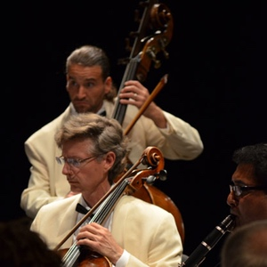 Midsummer's Music Festival members Jason Heath, Walter Preucil, and Elizandro Garcia-Montoya