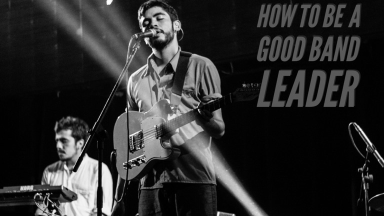 how to be a good bandleader copy