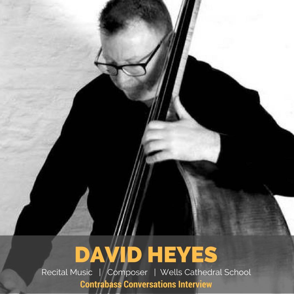 David Heyes double bass