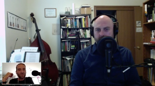 Garrett and Jason talking about music, podcasting, business, careers, and much more!
