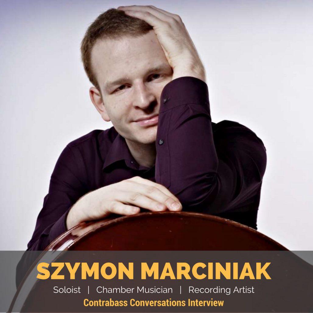 Szymon Marciniak double bass