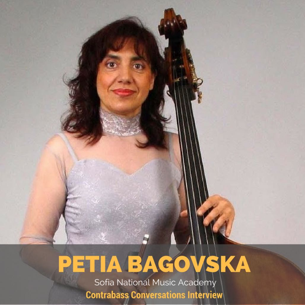 Petia Bagovska double bass